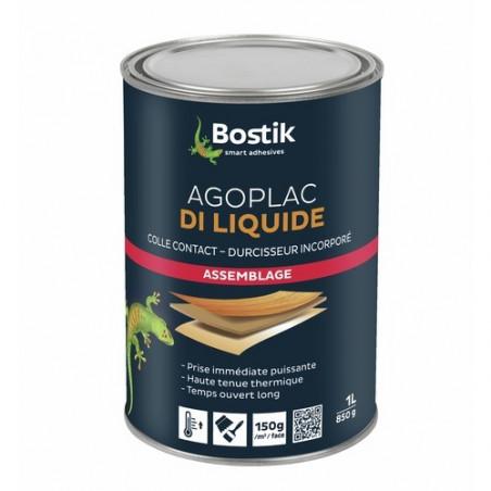 BOSTIK - COLLE NEOPRENE AGOPLAC DI LIQUIDE BOITE DE 1 LITRES