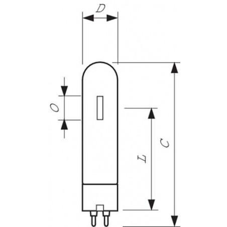 PHILIPS - 35W PG12 BLANC SDW-T DECHARGE SODIUM