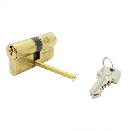 Tesa-Cylindre laiton TE5-2 entrées-30/30-3 clés