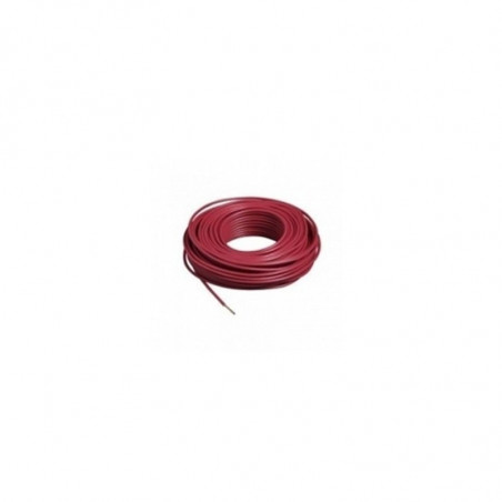 FILS ET CABLES BANALISES - FILH07VK2,5 ROUGE C100